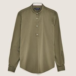 ZARA MAN Elastic polo shirt